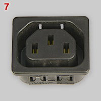 IEC 60320 type F appliance outlet