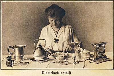 Electrical breakfast (Inventum 1918)