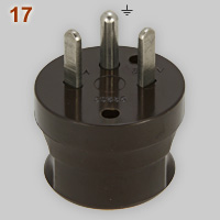 Vynckier 15A-380V single phase earthed plug