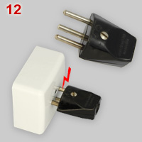 Swiss T12 socket with plug