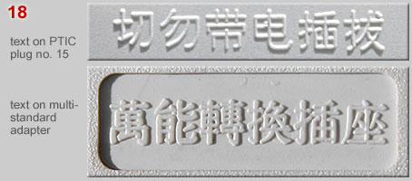 Texts on plugs in Chinese characters (2)