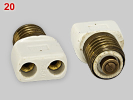 adapter with E27 fitting