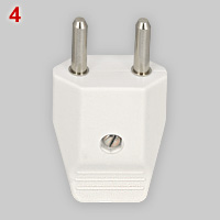 16A not earthed plug