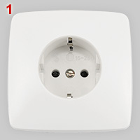 Schuko socket made by Superfil
