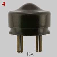 BS 372 Part 1, Clix 15A plug