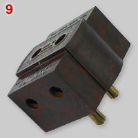 BS372 5A 2 pin Coltone multiplug