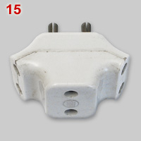 BS372 5A 2pin multiplug