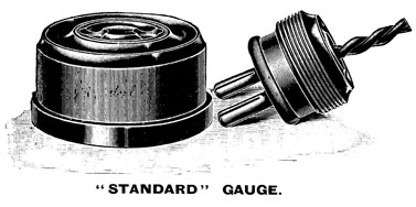 GEC Standard Gauge socket and plug (1911)