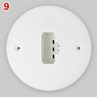 French DCL lamp socket