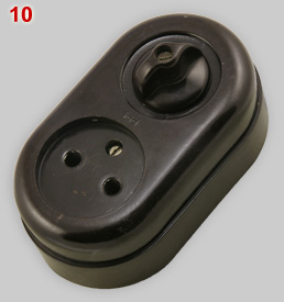 Hazemeyer Hengelo socket with switch