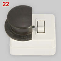 HPM BS 372 Part I 10A plug and matching socket