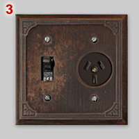 Vintage type I 10A socket