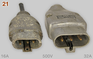 HH 500V 16A and 32A plugs