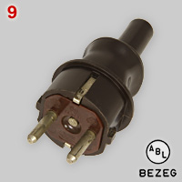 Schuko plug made by ABL BEZEG