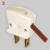 General Electric plug with automatic wiring device, 3