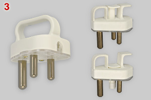 SANS 164-1 plugs with handle
