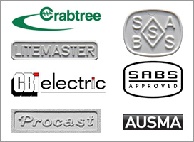 Logos and marks of South African plugs